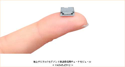 """(Image: Sharp Digital TV Tuner; Credit: www.sharp.co.jp) Thank to Sharp who has been developed the most wanted digital device that will allow users to enjoy TV show on their cellphone, PDA, or other handy mobile devices. Sharp digital TV tuner module """"VA3A5JZ912"""" is the world's smallest digital tv tuner been […]"""