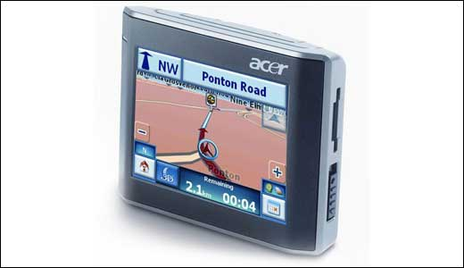 (Image: Acer V210 GPS; Credit: www.navigadget.com) Offering RDS/TMC live traffic info, the new Acer V210 comes with list of features which worth $332. Ok let take a look at the inside, the new V210 boasts 300MHz Samsung S3C2442XL processor, Centrality Atlas II GPS chip, and 64MB of random access memory […]