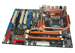 Available in 7 models, new ASUS motherboards directly answer to Intel new P35 chipset which is released recently. One of the Motherboards is ASUS P5K3 Deluxe which has improved features such as disabling SATA ports not in use, DDR3 support, and WiFi-AP (Now Wi-Fi capability not just owned by laptop, […]