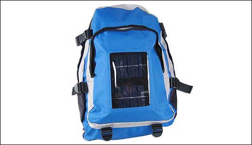 Are you going hiking for 1000 km next holidays? and you do not want your iPod getting power lost, prepare your self with the solar charging backpack. You can buy at www.geeks.com for $29.99. And before you buy lets consider the features that comes along: Water resistant, small solar panel […]