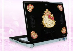 Statistics say that PC users nowadays tend to be men, but with the release of the Crystallized Hello Kitty laptop, NEC hoping to attract more women. NEC developed the laptop in collaboration with Sanrio Co (the famous Hello Kitty's brand owner). They successfully bring the laptop up to the next […]
