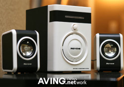 Targeting Korea market, the new 2.1 channel PC Speaker released by Royche under codename MS-2300. The speaker features Volume, Mic jack, Phone jack, and mute as line controllers. It also provides remote controller and MP3 & MP4 input for better music experience. Other features include: 1200W P.MP.P.O; 200mv input sensitivity […]