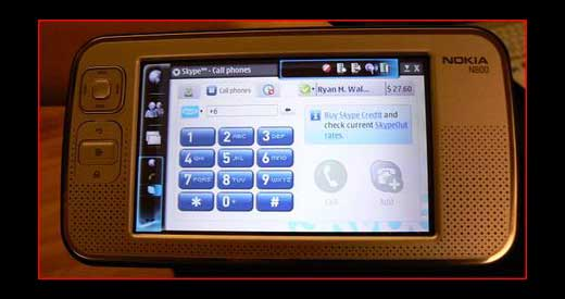 Kevin C, a good guy from jkontherun.com, caught Skype alive on Nokia N800 during Digital Experience Show in New York. He saw it and captured the display as shown above. According to him, the Skype for Nokia N800 will be available for download around July, but he not sure weather […]