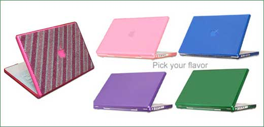 Are you boring with your white Macbook? and you want to replace with more colorful theme, it is OK now you have more option to do it. Let mention what Techshell (techshell.com) offers to us. They comes with compact cover for Macbook and Macbook Pro in various color such pink, […]