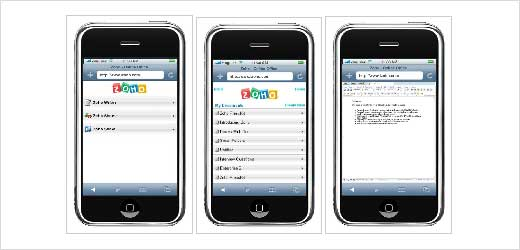 Do you want to doing your Office works on your iPhone? try iZoho (www.izoho.com). It designed to work with iPhone`s version of safari. There are three applications you can access such as Writer to write document, Sheet to view spreadsheet (without editing feature), and Show to view presentations (without editing […]