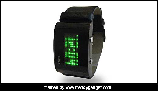 The LED Dot Matrix Watch remind me to well known and popular electronic board such as scoring board at stadium or movie schedule in theater, it so classic and simple. A very short animation will display soon after pushing the button, and then the watch display the current time or […]