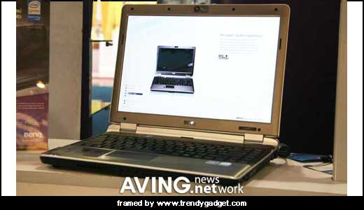 Joybook S41 is the new notebook pc from BenQ that was presented during Taitronics Bangkok 2007. Built upon Intel Santa Rosa platform, this notebook pc configured with 14.1-inch which is driven by Intel PM965 Chipset. It also sports HDMI out support HD 480P/720P/1080P in case you want to enjoy high-definition […]