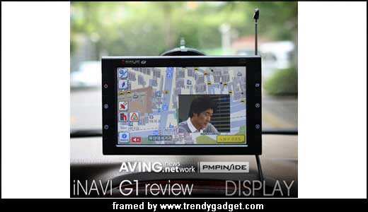 Designed for multimedia as well as navigation system, the G1 I-NAVI powered by 500MHz AU 1200 CPU from RMI. Released in Korea, the new G1 features G-Sensor offers 3 axis sensor, LCD at 800×480 resolution, Sirf III chipset, Audio/Video Player, Photo Album (support JPEG and BMP), Game and Car Diary. […]