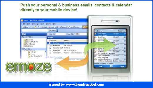 As described on its website, emoze offers users to receive emails and Outlook data anywhere, anytime through their mobile devices such as cellphone or PDA, and additionally emoze also can handle schedule, contacts, and personal information management, it is synchronized automatically. Emoze will push your data in one of 2 […]