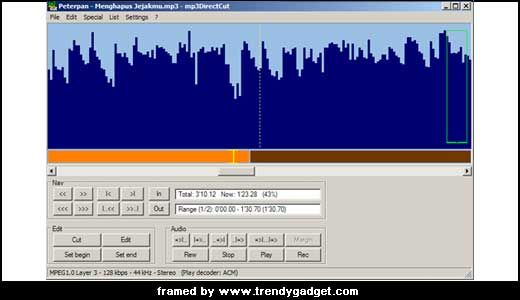 As a small MP3 editor, Mp3DierctCut coming with high-end features such as prelisten functions, visualization plus VU meter, fading/volume setting/normalizing, and direct recording of MP3 that make us happy. With direct recording, we don`t need to decompress our MP3 into PCM format first to start editing. This great feature allows […]