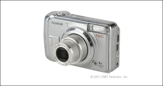 CNET reviewd the Fujifilm Finepix A900, which features 9-megapixel CCD, 4x opyical zoom, 2.5-inch LCD display, 17 pre-programmed scene modes, and 10 MB ofinternal memory. CNET editors' review: The good: A 9-megapixel digital camera; nice lens; accepts both xD and SD memory cards. The bad: Slow performance; heavy processing artifacts; […]
