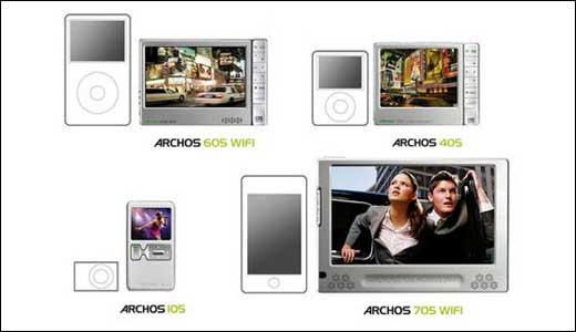 FCC approved the Archos 605 more than two months ago, and now the wait is over. As reported by UberGizmo.com, the Archos portable media player generation 5 is already on the market. The mentioned player including Archos 105 (the basic one with 2GB storage), Archos 405, Achos 605, and Archos […]