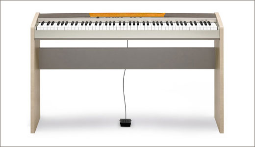 Claimed as the smallest digital piano in the world, the Pravia PX-120 was unveiled by Casio. Available in two different color combination (silver/dark grey and silver/light brown), this digital piano featuring advance audio technology and costs £550. And Beside this small piano, Casio also announced PX-720 at the same time, […]