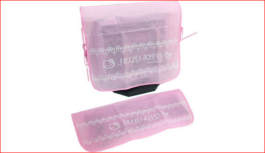 Available at dreamkitty.com, both Keyboard and LCD cover comes in pink with simple design plus Hello Kitty Logos. I think these are one of the most affordable Hello Kitty accessories for all Kitty's fans, $10.99 for the keyboard cover and $15.99 for the LCD cover. So starting now you can […]