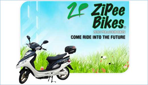 ZiPee, Zero Input of Pollution from Emissions into the Environment, is a scooter available in London. Powered by electricity, the ZiPee able to ride 30 miles away on a single charge. But in case you facing power lost, you still have the pedals to get mechanical power. And if you […]