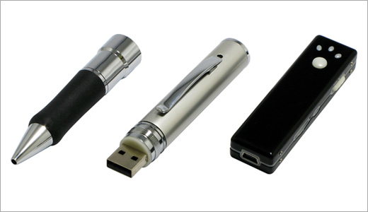 It's just another spy tool for James Bond wannabe, a video camera hiding in a ballpoint. Made by Digital Cowboy, this camera able to record subject at 15fps in H263 (AVI) format. Beside its real writing capability, this device also sports an USB port for video transfer. Weighing at 30g, […]