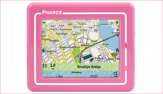 Featuring 3.5-inch TFT LCD, do not underestimate the pink version of Pharos Drive GPS 150. It is truly GPS with full functionality, it sports built-in super sensitive 20-channel SiRFstarIII GPS, Text-to-Speech capability, and friendly touch-screen operation. it is also pre-loaded with entire US maps and millions of POIs. Price: $200. […]