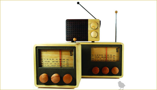 Indonesian designer, Singih Kartono has designed wooden magno radios and his design is also made by Indonesian carpenters from areas with high unemployment. Available in three different good looking style, these old fashion radio also able to play MP3 along with its AM/FM tuner. Price range between $200 and $300.
