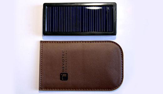 Keep Charged up Anywhere With The Latest Devotec Solar Charger Devotec Industries are proud to announce their smallest and lightest charger yet! Weighing in at a slim 80g and measuring about the same as a 1st gen Ipod Nano, the new solar charger still packs enough energy in its 1800mAh […]