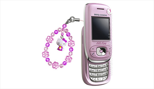 """Targeting 30-year-old women as its main users, the new Hello Kitty branded phone just launched in England. It seem the phone manufactured by Benq-Siemens (see picture). Price: £310 or $600. """"If the market was for 5 to 15-year-olds we wouldn't have become involved,"""" said Caroline Preston, Sales Director of Comment […]"""