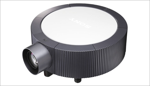 """Sony showing off its new VPL-E Projectors during the infoComm in Vegas. The prjector boasts BrightEra™ imaging technology that promises providing higher resolution and quiet fan noise at the same time. Beside its compact VPL-E series, Sony also introduces networked fixed VPL-F series. """"Professional customers are looking for projectors that […]"""