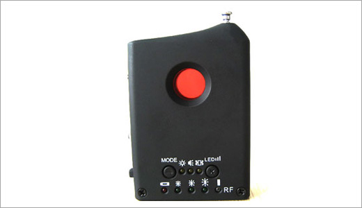 Are you afraid of hidden camera spying on you in your hotel room? try the 'Spy Camera Detector'. Available from China based vendor, Weike, this device is mentioned as a super all-in-one detector. Features: ● Various effective measures for counter investigation: Option A: intense red laser lights to expose all […]