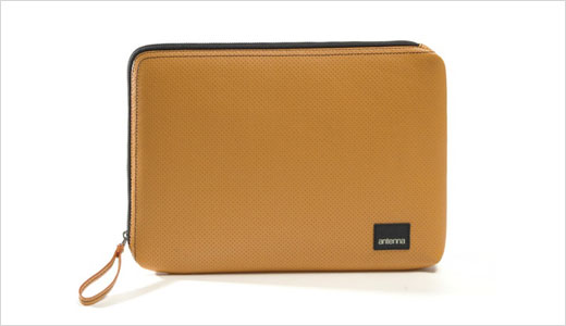 Designed to protect your MacBook or MacBook Pro, the Classic laptop sleeves from Antenna made of perforated leather with eco-friendly coating. You can use this stylish sleeve as a stand-alone laptop case or place inside your bag. The sleeves available in three different sizes include 13″, 15″, and 17″, you […]