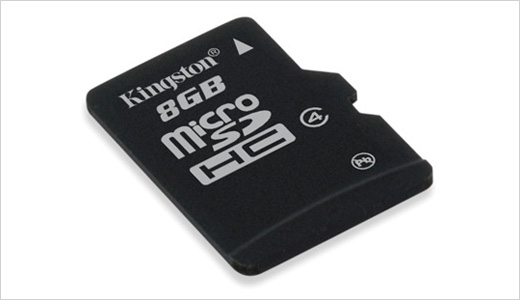 Kingston has made a quantum leap to bring 8GB MicorSD card to the world of digital media. Its new 8GB microSD High Capacity (SDHC) flash memory card boasts 4MB/sec of transfer rate and priced at about $58. Read