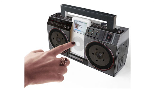 When I see this iPod dock, I remember when I was in senior high school playing 'Bon Jovi's Blaze of Glory' at my boarding house, I played it loudly using tape player with the shape like this but bigger. This mini Boombox iPod dock is classic enough for modern life […]