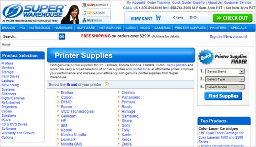 Finding cheap Printers & Printer Supplies is probably one of the most popular searches around, since most computer owners also have a printer of some sort, and they're always on the lookout for bargains. There's no shortage of places to go to find great deals on the inexpensive stuff either. […]