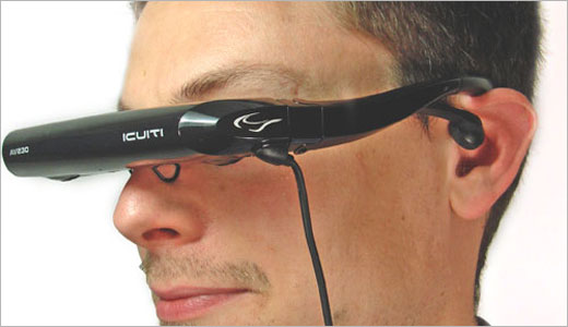 The Vuzix Video Eyewear AV230 allows users to watch the output of their iPod video on virtually 44-inch screen on the go. This futuristic device also equipped with high quality stereo headphones and rechargeable lithium battery that make it always ready to accompany you wherever you go. Technical Specifications: * […]