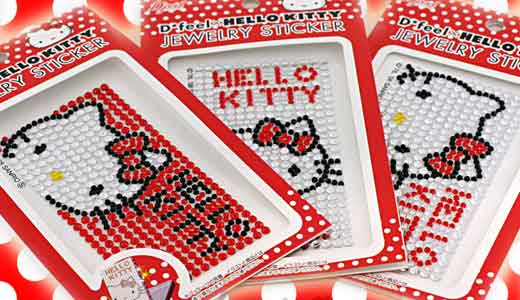 This Hello Kitty jewelry gem sticker is not made of Swarovski crystals but it uses acryl resin instead. So don't compare this fancy jewelry with the real crystal on NEC lappies. Available from strapya-world.com, this sticker is easy to attach and costs only $12.24 USD. Measuring 10 x 5 cm, […]