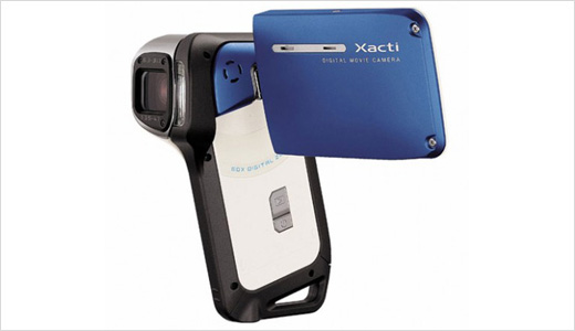 The latest pocket-sized camcorder from Sanyo, the Xacti E2 coming in pistol-grip design and measures only 2.8 x 4.4 x 1.6 inches. It's also waterproof down to 5 feet underwater. Priced at $400, this camcorder able to records MPEG-4 AVC/H.264 video at 640×480 pixels or take 8 MP still images. […]