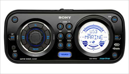Sony has new Marine CD Receiver/MP3 Player CDX-H910UI featuring USB 1 Wire for iPod and other USB devices. Controlling this device can be done trhough navigation dial system (RM-X60M, pictured below). The marine is priced at about $350 and you need $130 Features: * USB 1 Wire for iPod® and […]