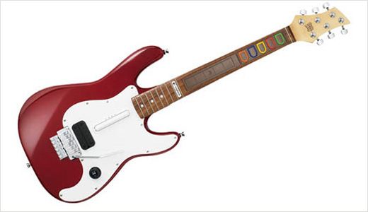 The new Wireless Guitar Controller Premiere Edition from Logitech is officially licensed for Guitar Hero. Featuring authentic materials, this controller compatible with both PlayStation3 and PlayStation2. It's not available yet at Logitech Store, but the pricing is already set at $250.