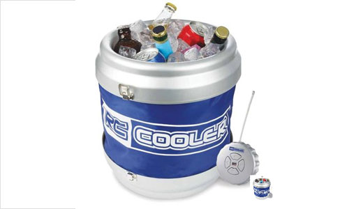The Remote Controlled Beverage Cooler is available from hammacher.com for $70. With capacity up to 12 cans or bottles and ice, this cooler can travel as far as 40 feet away from the controller. Featuring water resistant insulated vinyl, this can able to keep beverage stay cold for hours. The […]
