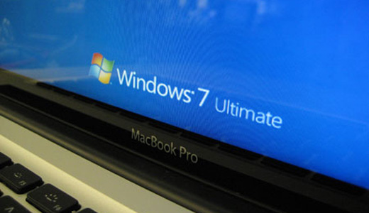 Testers from PC Magazine Labs attempted to run Windows 7 on MacBook Pro. The installation simply works using bootcamp, but the system doesn't works well. It's unable to get online and the multi-touch trackpad wasn't working either.