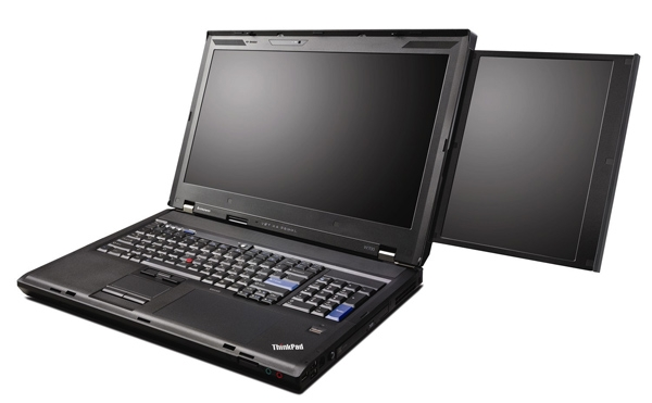 I wonder why a laptop should have two screen, is it more aesthatic than function? I don't think need this, but may be you need one. If you do, you should visit CES 2009 event next month to see the new Lenovo ThinkPad W700ds – dual screen laptop.The laptop configured […]