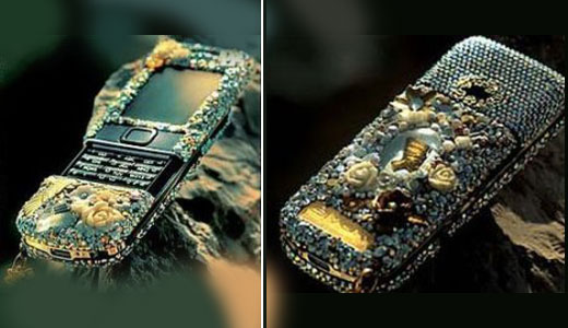 As far as I read about this phone, everybody commented this handset is ugly, but I don't think so. This is the most artistic phone I've ever seen. I like the color composistion, it's so natural. Only available in Dubai and made only 50 pieces, this phone covered with 24 […]