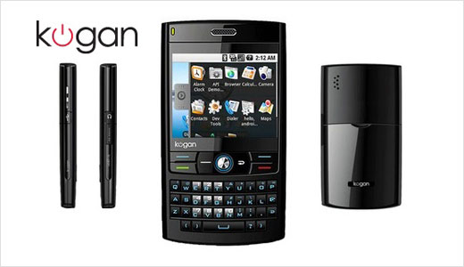 If you want the cheaper alternative of HTC Android phone, you can wait until January 2009 and buy Kogan Agora. Ship from Australia, the Kogan Agora Android phone priced at only AUD 299 or USD 192.