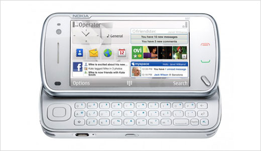 Nokia plans to ship the next N97 in the first half of 2009. Mentioned as 'handheld computer' the N97 features large 3.5 inch touch-screen display with 640×360 pixels resolution, QWERTY keyboard, up to 42 GB storage, DVD quality video capture, and up to 5 MP image capture.
