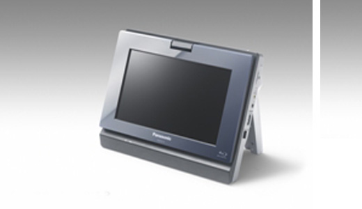 Expected to be available in May, the new Panasonic DMP-B15 portable Blu-Ray player features a high quality 8.9-inch WSVGA LCD screen and includes the unique VIERA CAST™ internet accessibility and BD Live functionality. You can see this player in action right now during CES 2009 in Las Vegas.