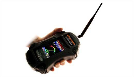 New Beetle-BANG Handheld Wi-Fi Optimizer has been released by BVS recently. The handheld is a calibrated wireless test receiver system that verifies, sweeps, measures and optimizes all popular 802.11 Wi-Fi network standards.