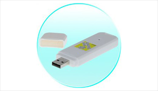 The 2-in-1 USB adapter that allows users to access both WiFi and Bluetooth network available from Chinavision.com. This adapter is suitable for desktop as well as laptop which doesn't support such features yet, I think most recent laptop already have both features.