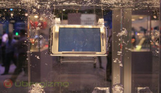 "Unlike the Nokia internet tablet, the new one from Toshiba is waterproof. This device connect to internet through WiFi network. I imagine utilizing this tablet while I'm in the rain without umbrella, and then I logging into my Facebook account and set my status ""I'm walking in the rain.."" Read"