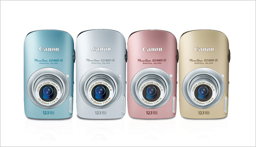 Also part of the Canon's new 2009 PowerShot line-up, the Canon PowerShot SD960 IS Digital ELPH Camera comes in four subtle hues, including silver, blue, pink and gold, and is equipped with a simple button layout, wide-screen 2.8-inch PureColor LCD II screen, new Active Display and an improved user interface […]