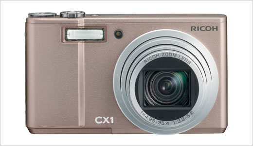 The new Ricoh CX1 digital camera has a large 3-inch VGA screen and a 7.1x optical wide-angle zoom lens (28-200 mm in 35 mm film equivalent focal length) with maximum dynamic range equivalent to 12 EV. Powered by Smooth Imaging Engine IV, the CX1 also features multi-pattern auto white balance, […]
