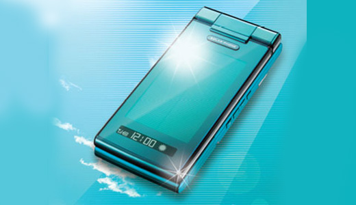 Sharp and KDDI to release solar-powered and waterproof phone in June. You need to put the phone under sunlight as long as 10 minutes to power the phone for 1 minute talktime or 2hrs standby mode. Can we charge this phone under water? probably not. Read