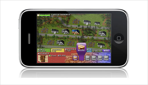 The popular real estate strategy game 'Build-a-lot' has been brought to iPhone/iPod touch users by Glu Mobile. You can purchase the game for $4.99 through Apple App Store directly from you iPhone/iPod touch or from iTunes on your PC or Mac. Just like the standard version, the mobile version also […]