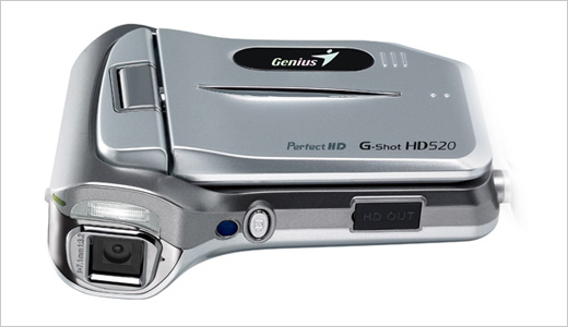 Priced at $149, the new G-Shot HD520 HD camcorder captures both high-resolution stills (at 11-megapixels) and high-definition video (at 5-megapixel in MPEG-4/H.264 format). This pocket camcorder weighs under 6-ozs and comes loaded with a 7.1 mm lens, a 5X digital zoom, and a Li-ion rechargeable battery. Highlights: Face Detection, Electronic […]